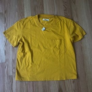 NWT Mustard Colored Top